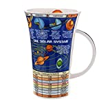 Dunoon Glencoe Fine China Educational SOLAR SYSTEM Mug Cup 500ml 16.9 fl oz