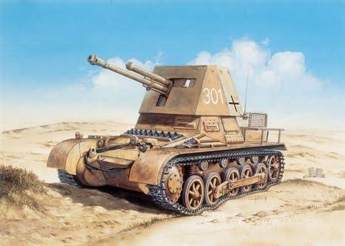 4.7 cm Italeri 510007058-1:72 Panzerj/äger I PAK T