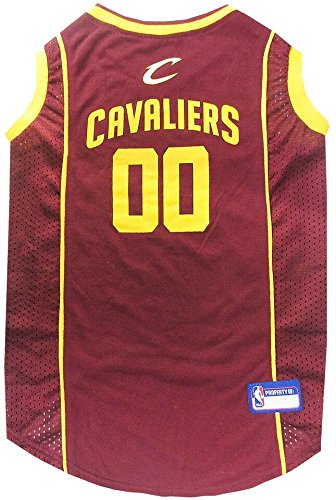CLEVELAND CAVALIERS Dog Jersey ★ ALL SIZES ★ Licensed NBA (XS) by Pets First