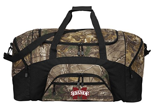 Bulldogs State Gym Bag Mississippi (Broad Bay Large RealTree Camo Mississippi State Duffel Bag Or Camo MSU Mississippi State Gym Bag)