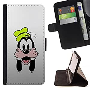 DEVIL CASE - FOR HTC Desire 820 - Goof Face - Style PU Leather Case Wallet Flip Stand Flap Closure Cover
