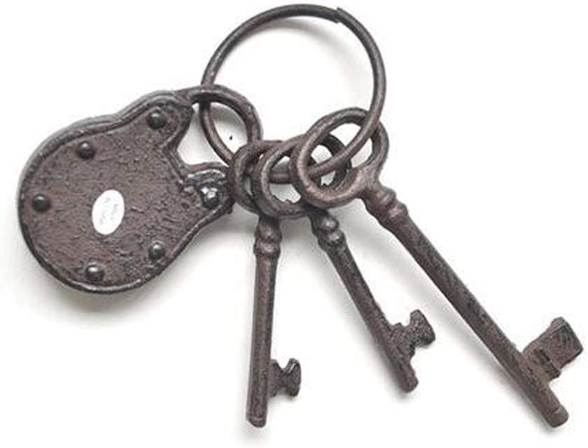 Authentic Victorian Antique Door or Furniture Keys 3 Vintage Skeleton Keys Steampunk Art Supplies 05299 Ideal for Crafts or Jewelry