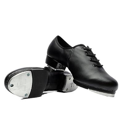 873097d5c BeiBestCoat Dance Womens Tap Shoes Dancing Shoes for Women,Ladies,Girls,  Black (