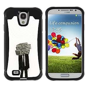 "Pulsar iFace Series Tpu silicona Carcasa Funda Case para Samsung Galaxy S4 IV I9500 , Máscara Significado Profundo Depresión Traje"""
