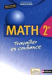 Math 2e Travailler en confiance