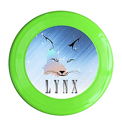 SAXON13 Funny Wolf Lynx 150g KellyGreen Toy Flying Disc (Ddo Points)