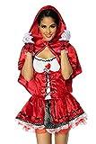 Süsses Rotkäppchen Kostüm für Karneval und Mottoparty