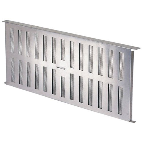 AIR VENT FA109000 16.94'' x 8'' Aluminum Foundation Vent