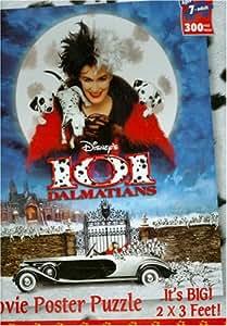 amazoncom disney movie poster puzzle 101 dalmations