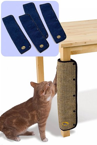 Cleo Cat Post Table Leg Scratch Guard   Protector   Blue (price Per Pair):  Amazon.co.uk: Garden U0026 Outdoors