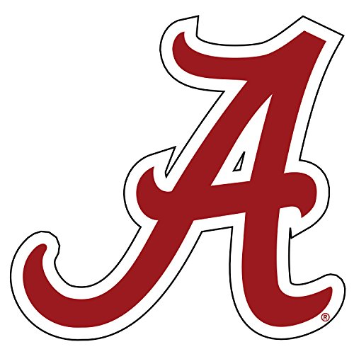 "Alabama Crimson Tide Magnet CRIM SCRIPT A MAGNET 3"""
