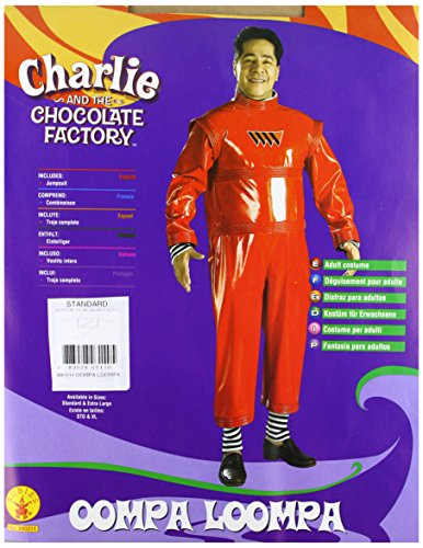 Halloween Costumes Oompa Loompa (Rubie's Costume Co. Men's Oompa Loompa Costume, As Shown, Standard)