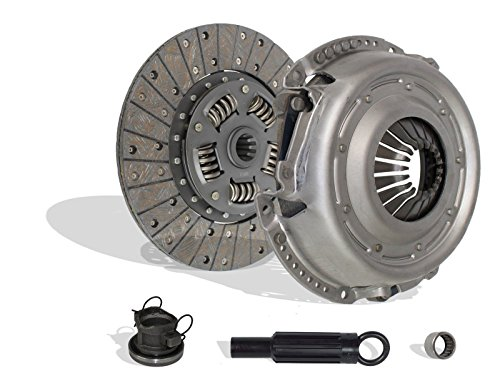 Clutch Kit Works With Jeep Wrangler Unlimited X Sport Rubicon Sahara 70th Anniversary Sport Utility X 2007-2011 3.8L V6 GAS OHV Naturally ()