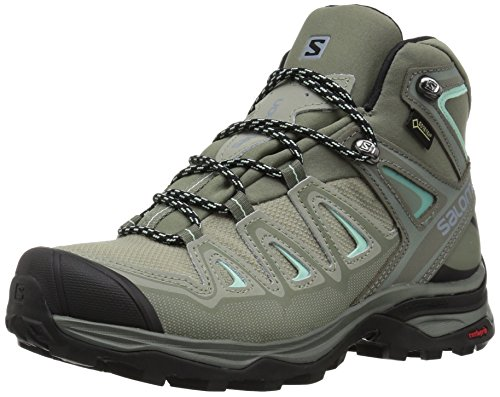 Boot Backpacking Gtx Mid (Salomon Women's X Ultra 3 Mid GTX W Hiking Boot,Shadow,9 M US)