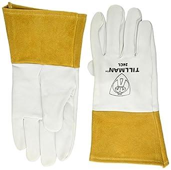 John Tillman y Co 24 cl Premium Top grano Pearl kidskin MIG/TIG soldador guantes