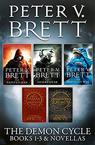 book cover of The Demon Cycle Books 1-3 and Novellas