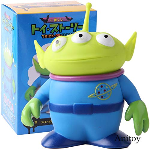 LANKANA Toy Story - Trick-or-Toys! Zacca Planet Toy Story Alien PVC Action Figures Toys Kids Childrens Gifts 1 PCs ()