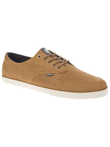 Element - Zapatillas de Piel para Hombre, Color Marrón, Talla 40.5