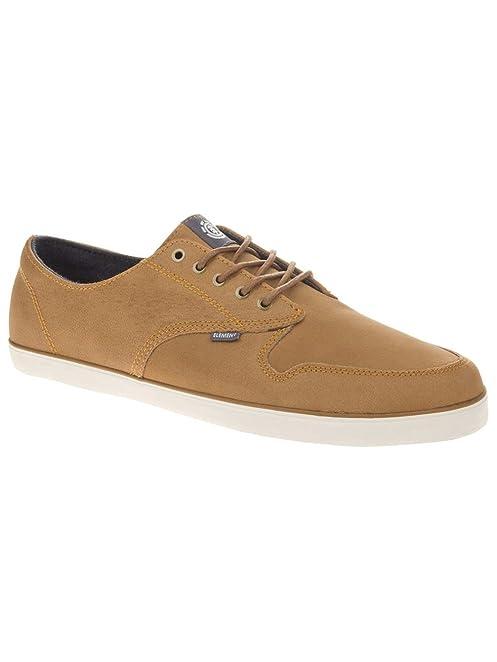 Element - Zapatillas de Piel para hombre, color Marrón, talla 10.5