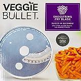 Veggie Bullet Shoestring 5 mm Fry Blade Slicer In Case