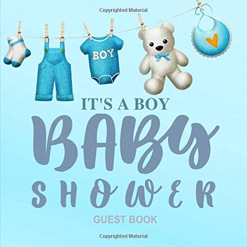 Pdf Parenting It's A Boy. Baby Shower Guest Book.