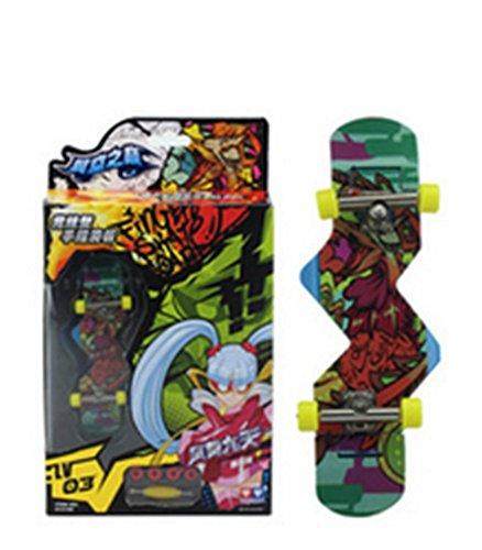 Remeehi Mini Educational Finger Skateboard Cute Fancy Toys Mini Finger Skateboards for Kids by Remeehi