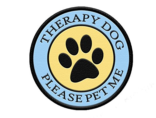 Therapy Dog Please Pet Patch