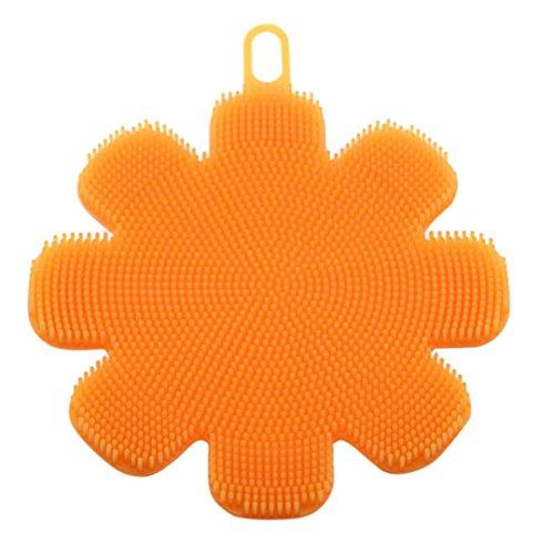 Silicone Dish Washing Sponge Scrubber, Staron Silicone Non S