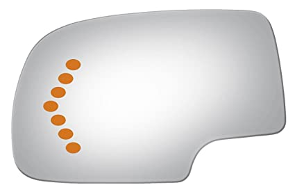 Amazon Com Flat Driver With Signal Side Mirror Replacement Glass