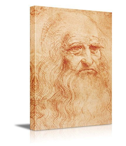 Amazon.com: Portrait of Leonardo da Vinci - Inspirational Famous ...