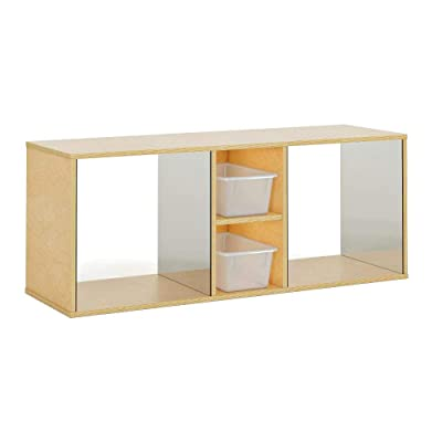 Whitney Brothers Toddler Discovery Crawl-Through Cabinet Natural UV: Kitchen & Dining