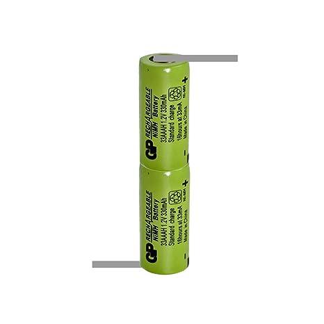 GP1/2AAA gp35aah 2,4 V 350 mAh NI-MH la Industria batería Pack con ...