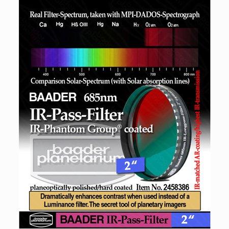 Baader Planetarium 2458386 2-inch IR-Pass Telescope Filter  by Baader Planetarium