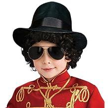 Rubies Costume Co (Canada) Michael Jackson Costume Accessory, Child's Fedora Hat