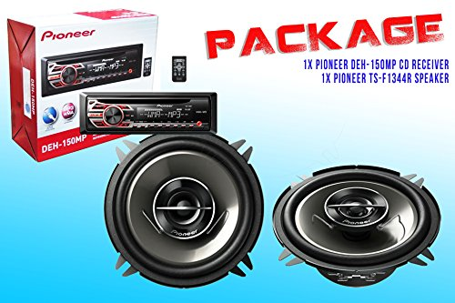 Watt Compact Mixer - PACKAGE ! Pioneer DEH-150MP CD-Receiver + Pioneer TS-G1344R Car Speakers