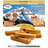 Yak Milk Himalayan Dog Chew - Cheese Treats For Dog And Puppy - Long Lasting Chews - Natural - Churpi - Small Medium Dogs. 0.5lbs 250g Bags - Also Small, Large, X-Large and Bulk Bags For All Dog Sizes