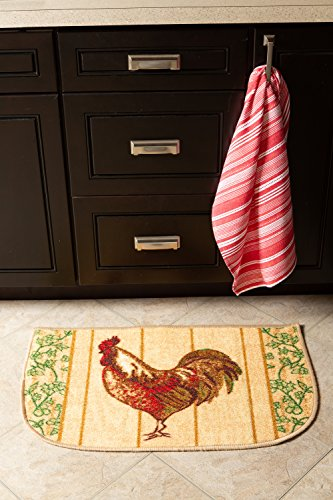 Fashion Non-Skid Printed Comfort Kitchen Mat Area Rug, 18x30