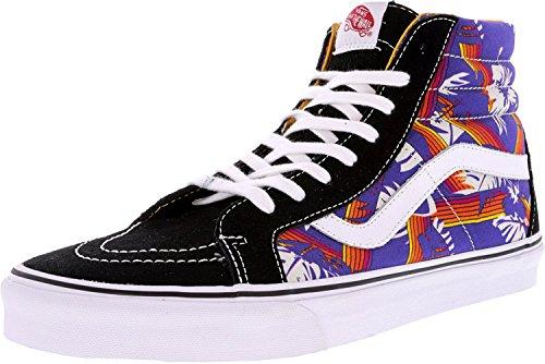 Vans Men's Sk8-Hi Reissue Doren Black/Tropic Rays Ankle-High Canvas Skateboarding Shoe - - Ray Vans