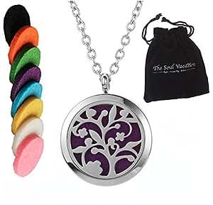 Amazon.com: Essential Oil Diffuser Necklace Aromatherapy