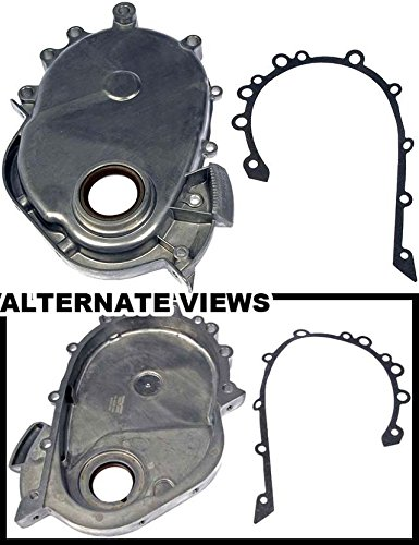 APDTY 746510 Timing Chain Cover w/Seal & Gasket For Jeep/Dodge 2.5L or 4.0L (Replaces 53020222)