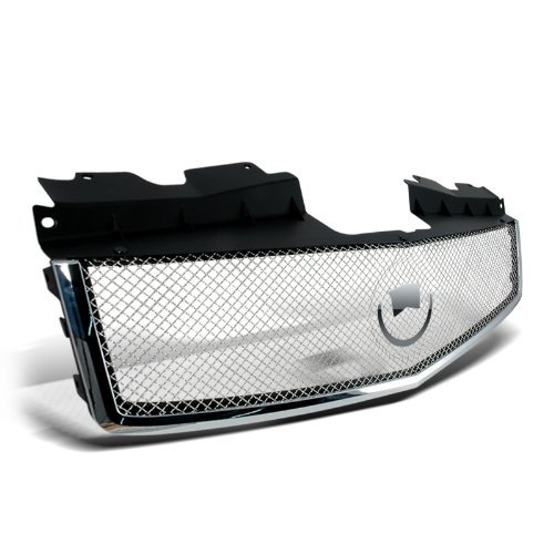 Spec-D Tuning HG-CTS03C-RS Cadillac Cts Cts-V Front Mesh Grille Chrome
