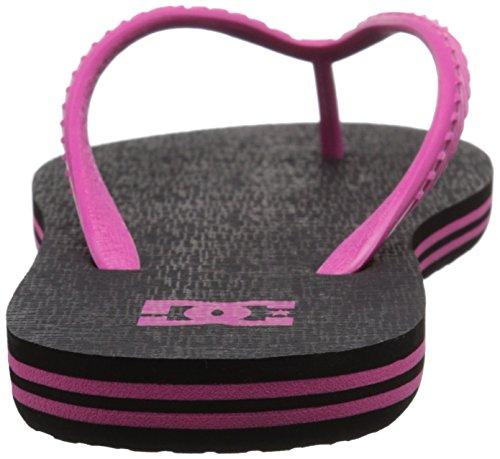 Sandalia Dc Spray Black / Pink