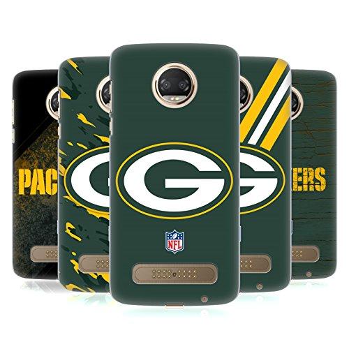 Official NFL Green Bay Packers Logo Hard Back Case for Motorola Moto Z2 Play
