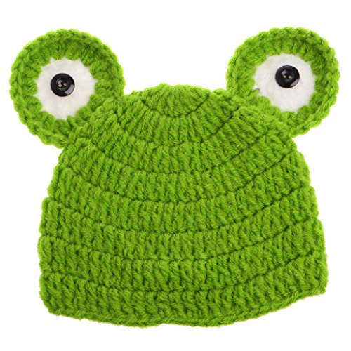Cute Halloween Baby Pictures (HotAmz Little Children Baby Lovely frog Infant Cute Animal Knit Hat-)
