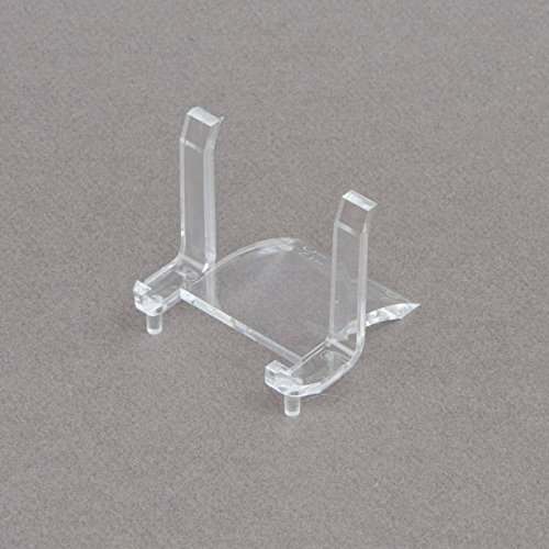 """(5) 2"""" Clear Rectangular Display Stand Holder Easels for ..."""