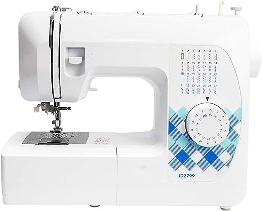 Máquina de coser eléctrica portátil, máquina de coser doméstica de ...