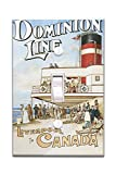 Dominion Line - Liverpool to Canada - Vintage Poster (Light Switchplate Cover)