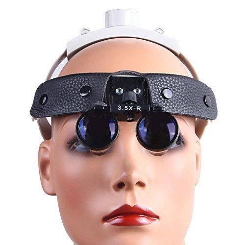 Ocean Aquarius 3.5 X-R Binocular Loupes Black Headband Surgical Medical Glasses DY-108 by Ocean Aquarius (Image #5)