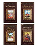 img - for Treasury of Illustrated Classic Books - Journey to the Center of the Earth - Alice in Wonderland - The Wizard of Oz - The Time Machine - Set of 4 Paperback Books book / textbook / text book