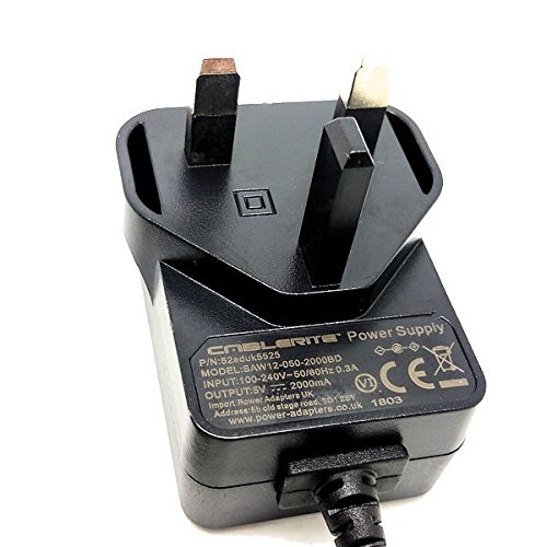 5v Uk mains lead power supply for Hauppauge HD PVR 2 Gaming Edition